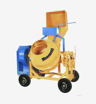 Betoneira de 600 Litros Carregador com Motor Trifásico