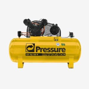 Compressor de Ar de 130 Litros com 140 Libras